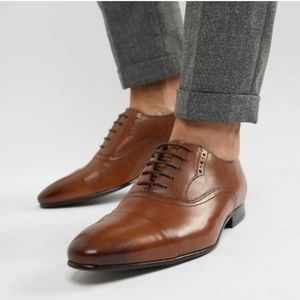 Ted Baker | BNIB Murain Leather Cap Toe Oxfords